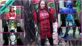 Human Carwash: Michaela Hair, PVC & Boots