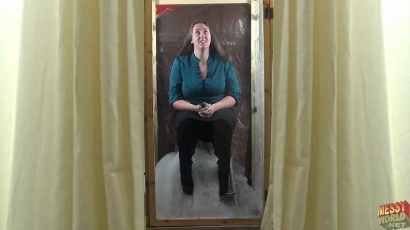Michaela Gunged in Skirt & Boots in the SupaGunga