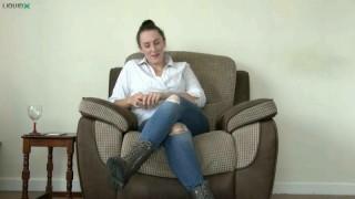 Michaela Talks Feet Slaves