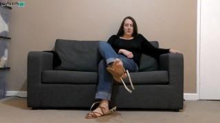 Michaela Feet Denial Custom