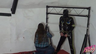 Rubber Slave Trussed
