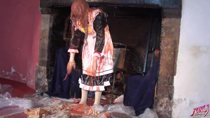 Sissy Maid Cleaning The Secret Fireplace