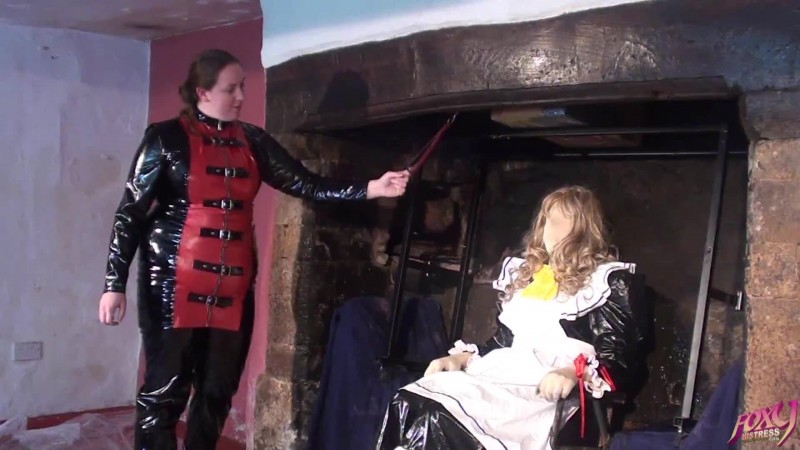 Sissy Maid Gunged in The Secret Fireplace