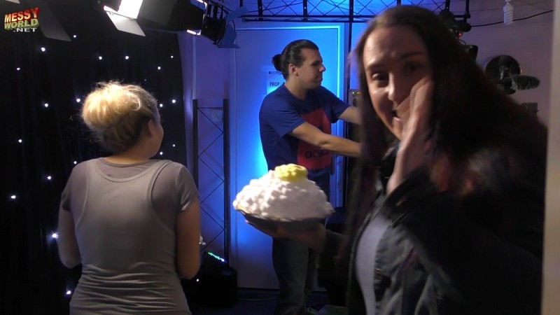 Producer Pied & Gunged during LIVE Filming!