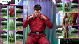 Callum Red Boilersuit