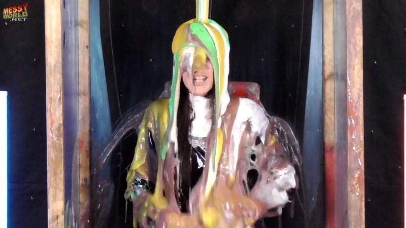 Debbie Cleaning Gunge Tank