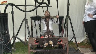 Debbie Gunged in The Pillory System