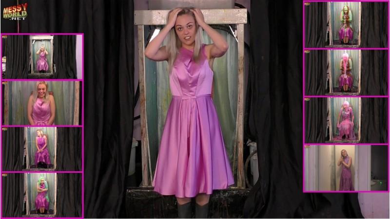 Jorgie Pink Dress Destroyer