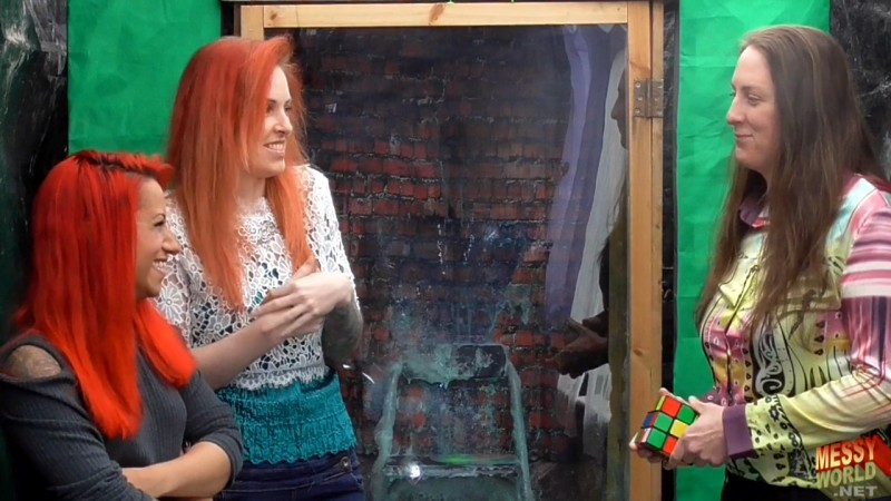 Estelle Rubix Cube Gunge Timer (with surprise for Michaela)