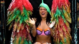 Human Carwash: Kim in Bikini