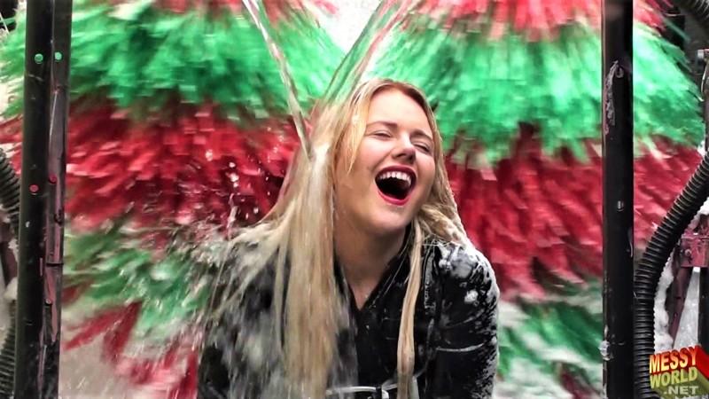 Human Carwash: Lucy's PVC Carwash Trip