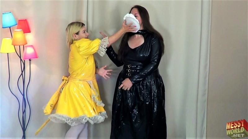 Human Carwash: Maid Lucy's Deep Clean