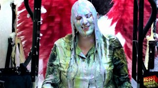 Human Carwash: Michaela in Denim