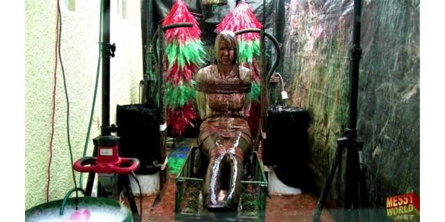 Human Carwash: Tamara Tied Up