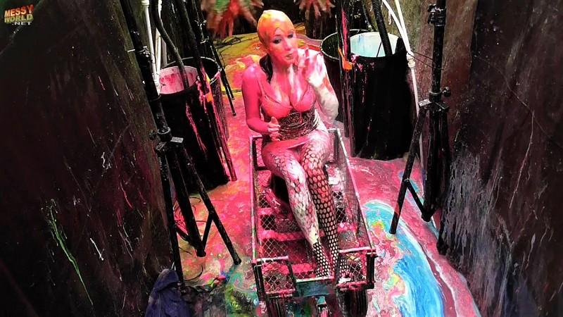 Human Carwash: Vicky in Short Dress