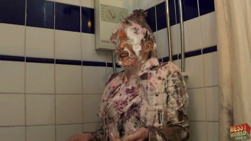 Holly Shower's Off (Following Holly's Pie Covering)
