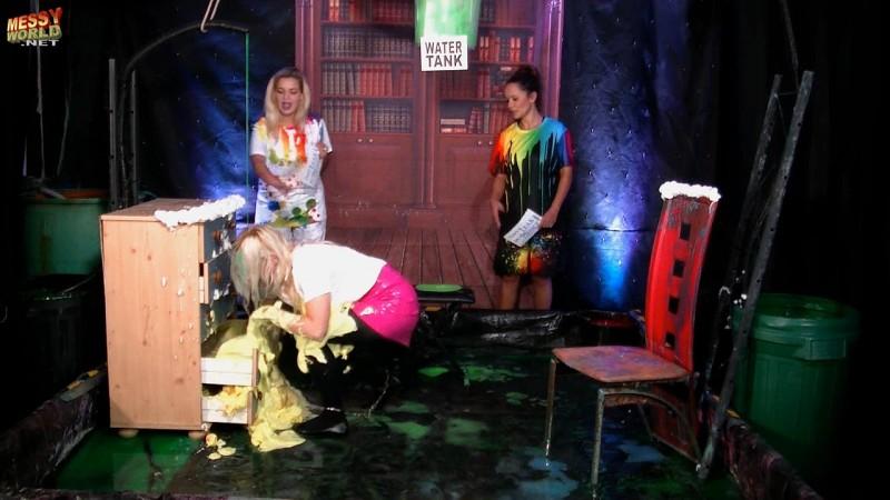 Leak In The Office featuring Rebecca