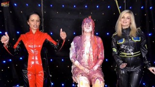 Laura Gets Messy