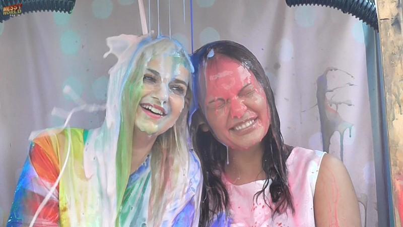 Lisa & Louise Messy Prank
