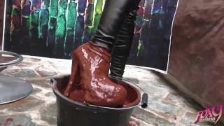 Lisa's Muddy Boots