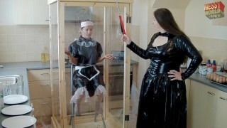 Maid Cleaning The Gunge Tank