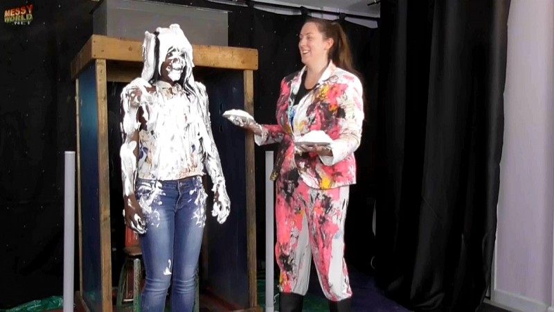 Naomi Pied & Slime by Miss Michaela