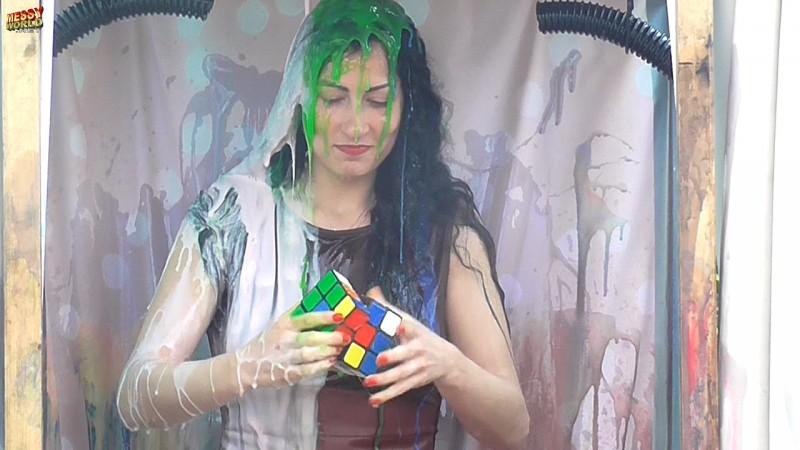 Rhianna Rubix Cube Destroyer Timer