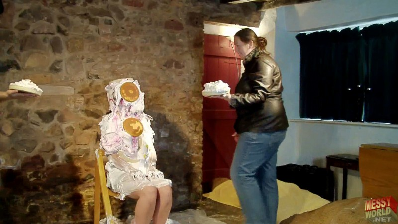 Samantha Gets Covered in Pies